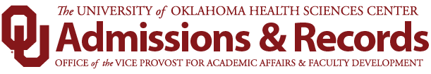 Admissions and Records - Office of the Vice Provost for Academic Affairs and Faculty Development